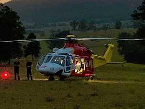 Man hurt after 10m fall down embankment