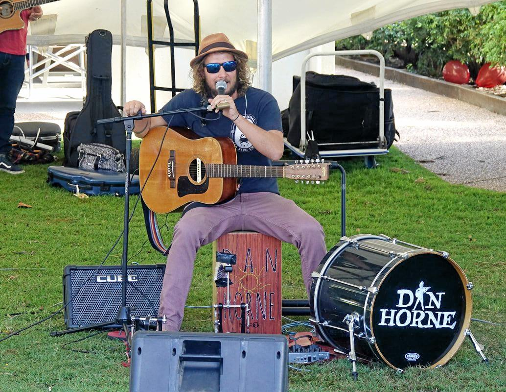 MUSIC MAN: Dan Horne will be one of the performers at the Imperial Hotel on Saturday.