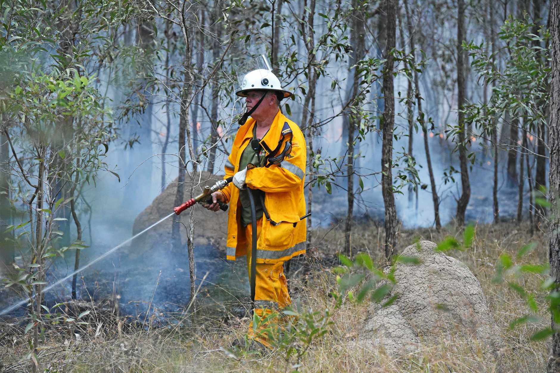 The Fraser Coast could be at risk as a bushfire crisis engulfs the state.