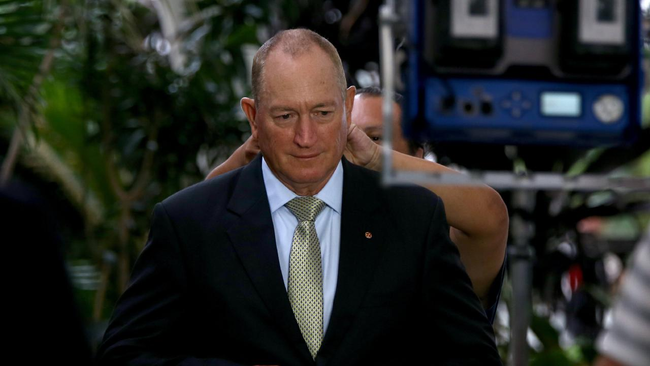 Queensland Senator Fraser Anning is being criticised for attending rally's in St Kilda. Picture: AAP