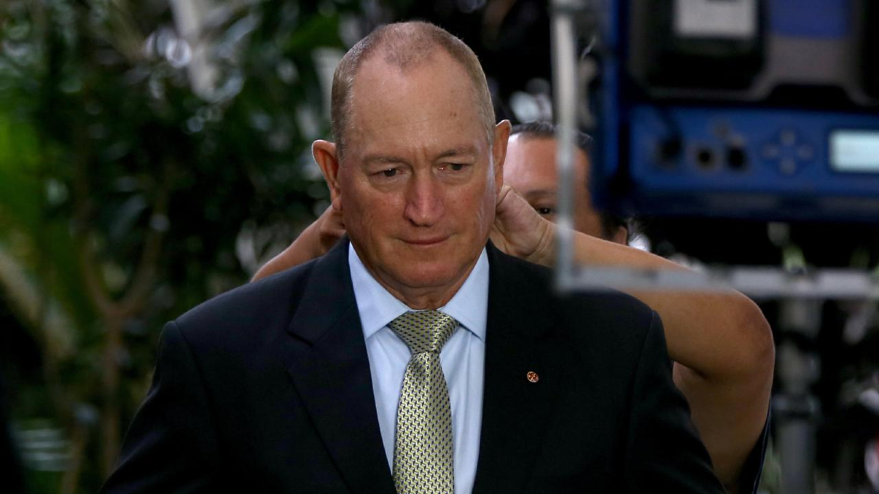 Queensland Senator Fraser Anning has been questioned after he charged the taxpayer for multiple trips to events linked to neo-Nazis. Picture: AAP