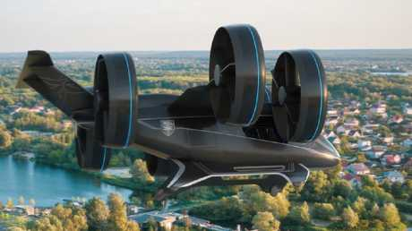 Giant drones are tipped to become a reality by midway through next decade.
