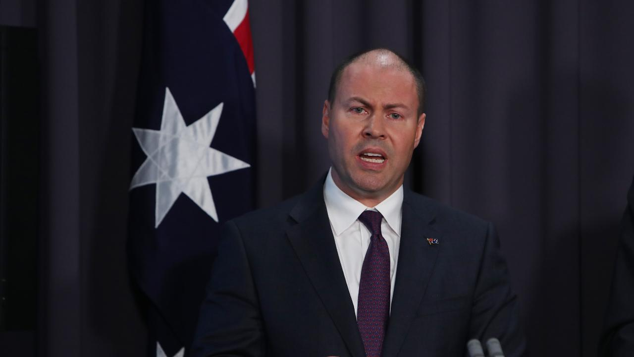 "Treasurer Josh Frydenberg said the superannuation system of default funds had created an ""unlucky lottery"" for people's retirement savings. Picture: Kym Smith"