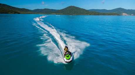 The Whitsundays saw a huge 34 per cent increase in the number of tourists. Picture: Tourism Whitsundays