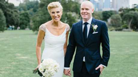 Mimi Venker and Jason Ingram got married in 2018, three years after they met on Tinder. Picture: Camilla Kirk Photography
