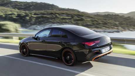 The Mercedes Benz CLA is based on the A Class hatch