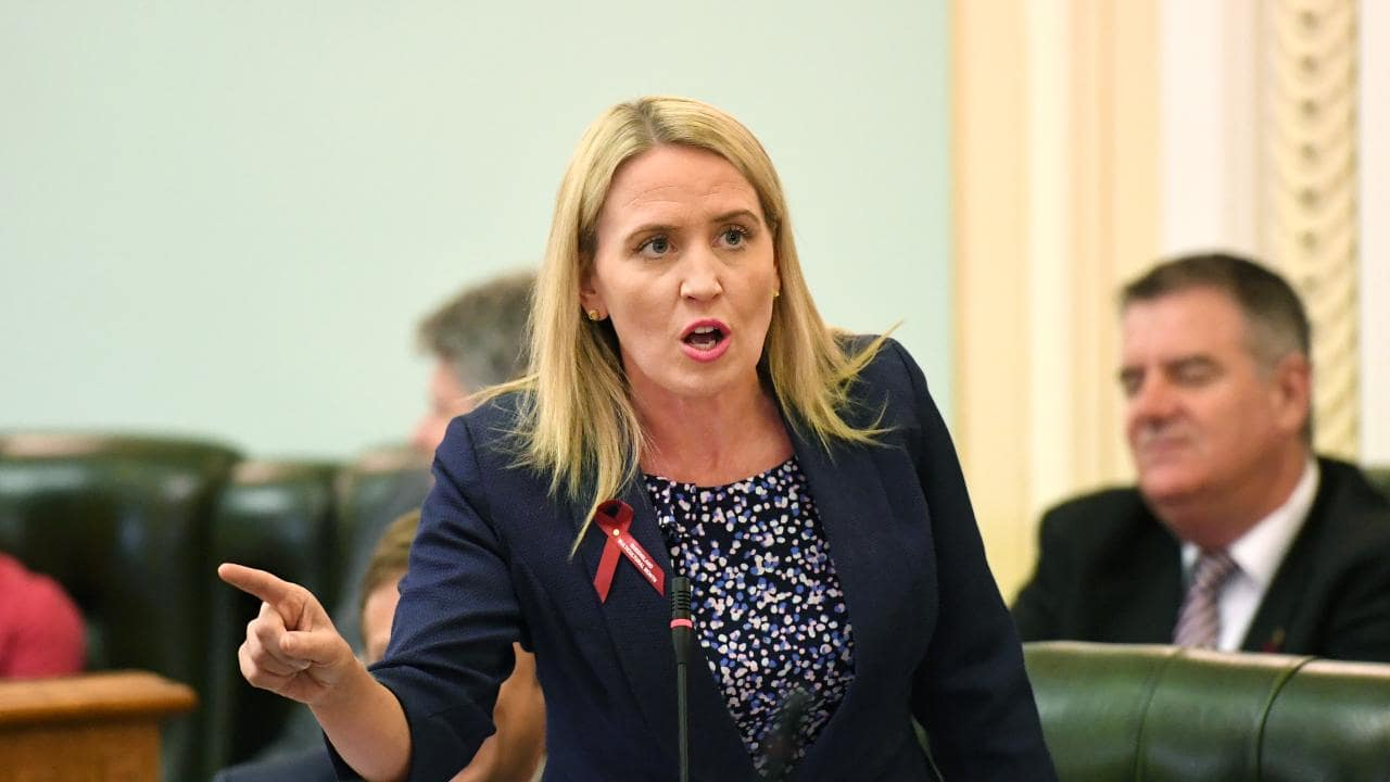 Queensland Tourism Minister Kate Jones would not say if the government would support the move. Picture: AAP Image/Dan Peled
