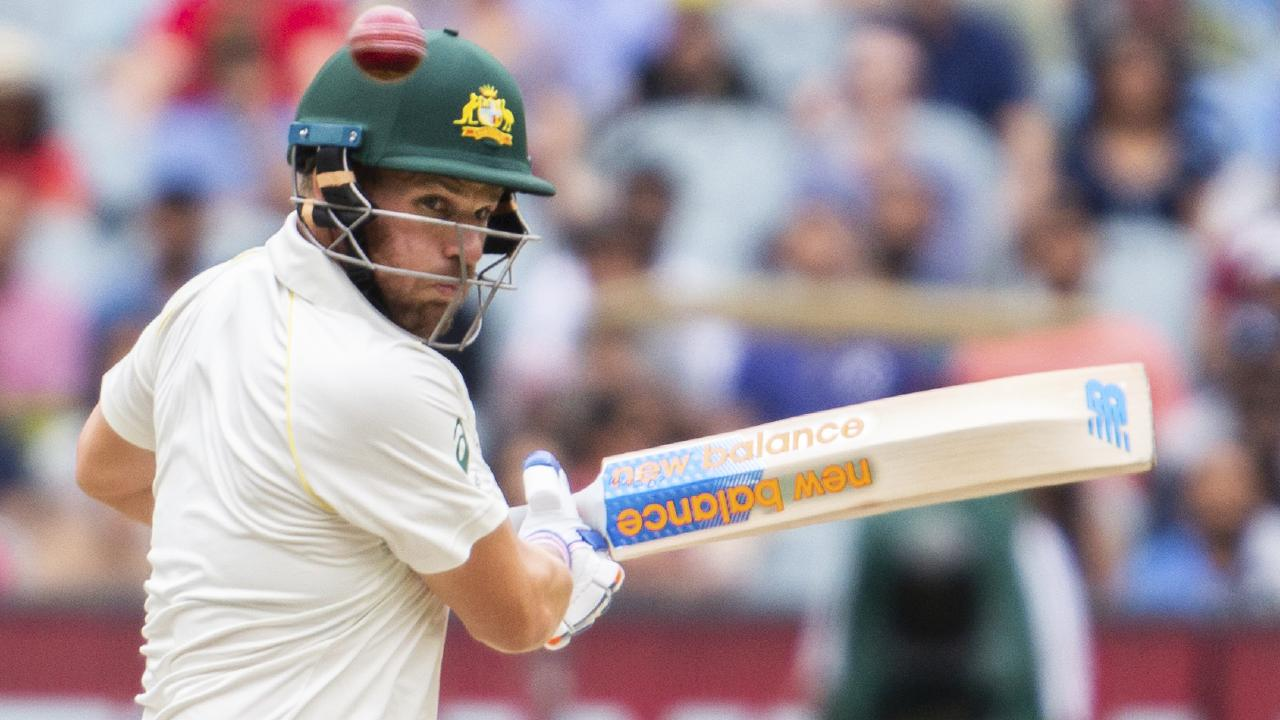 Aaron Finch looked uncomfortable at the top of the order.