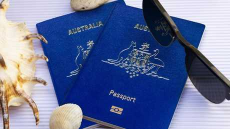 Australia dropped from seventh to tenth on the most powerful passport list. Picture: Supplied