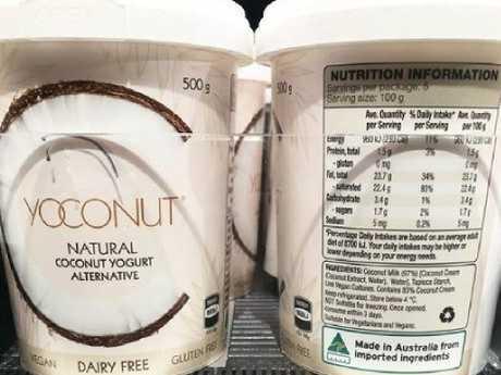 Aldi's dairy-free alternative. Picture: Instagram