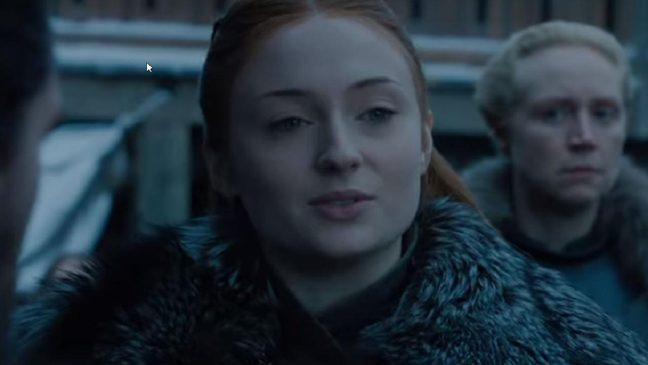 Game of Thrones released new footage this week showing Daenerys meeting Sansa. Picture: HBO
