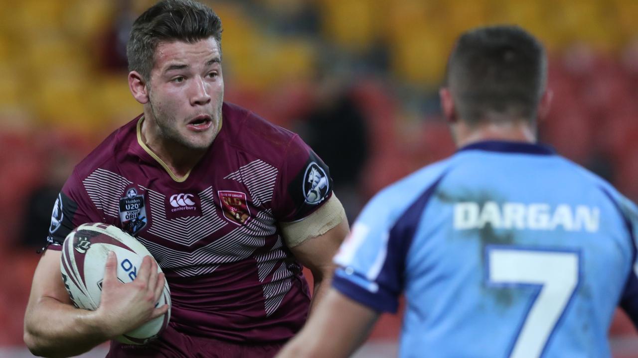 Patrick Carrigan for Queensland Under 20s. Picture: Peter Wallis