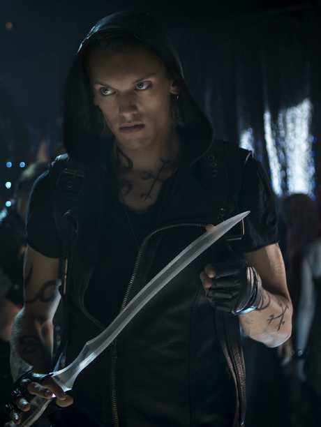 Jamie Campbell Bower, of the Twilight empire, will also star in the new series. Picture: Supplied