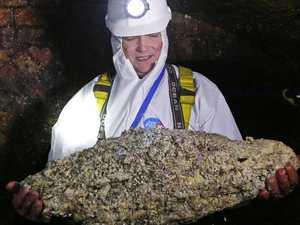 Massive 'fatberg' found in seaside town