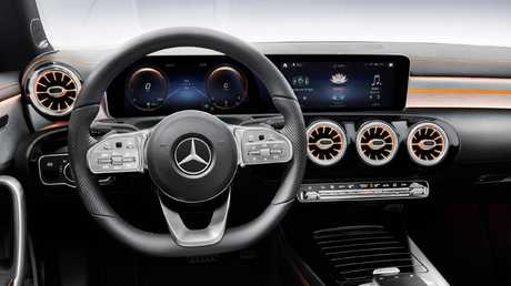 "The CLA features the maker's new ""Hey Mercedes"" digital assistant."