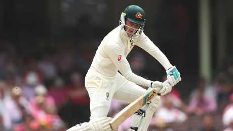 Peter Handscomb changed his approach at the SCG.