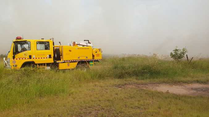 Two crews are on scene at a Burrum Heads bushfire, which broke out yesterday, with more rural trucks en route to the location near Bushnell Rd and Orchid Dr.