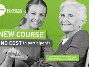 Join one of Australia's fastest growing industries. New Sunshine Coast based course available at no cost to participants.