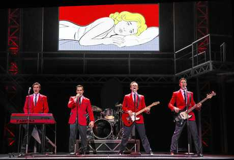 Jersey Boys starring Glaston Toft returns to QPAC in January 2019.