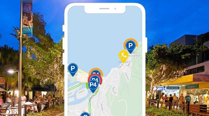 SMART WAY: The app that will help guide Noosa visitors to less hassles on the road.