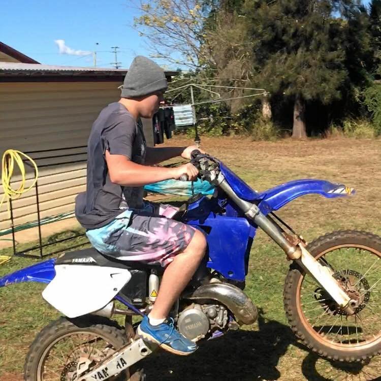 STOLEN BIKE: Jake Liedtke said his bike has gotten him through some hard times