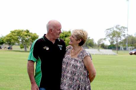 John and Joy Allen have been proud volunteers of the Maclean Bobcats Football Club.