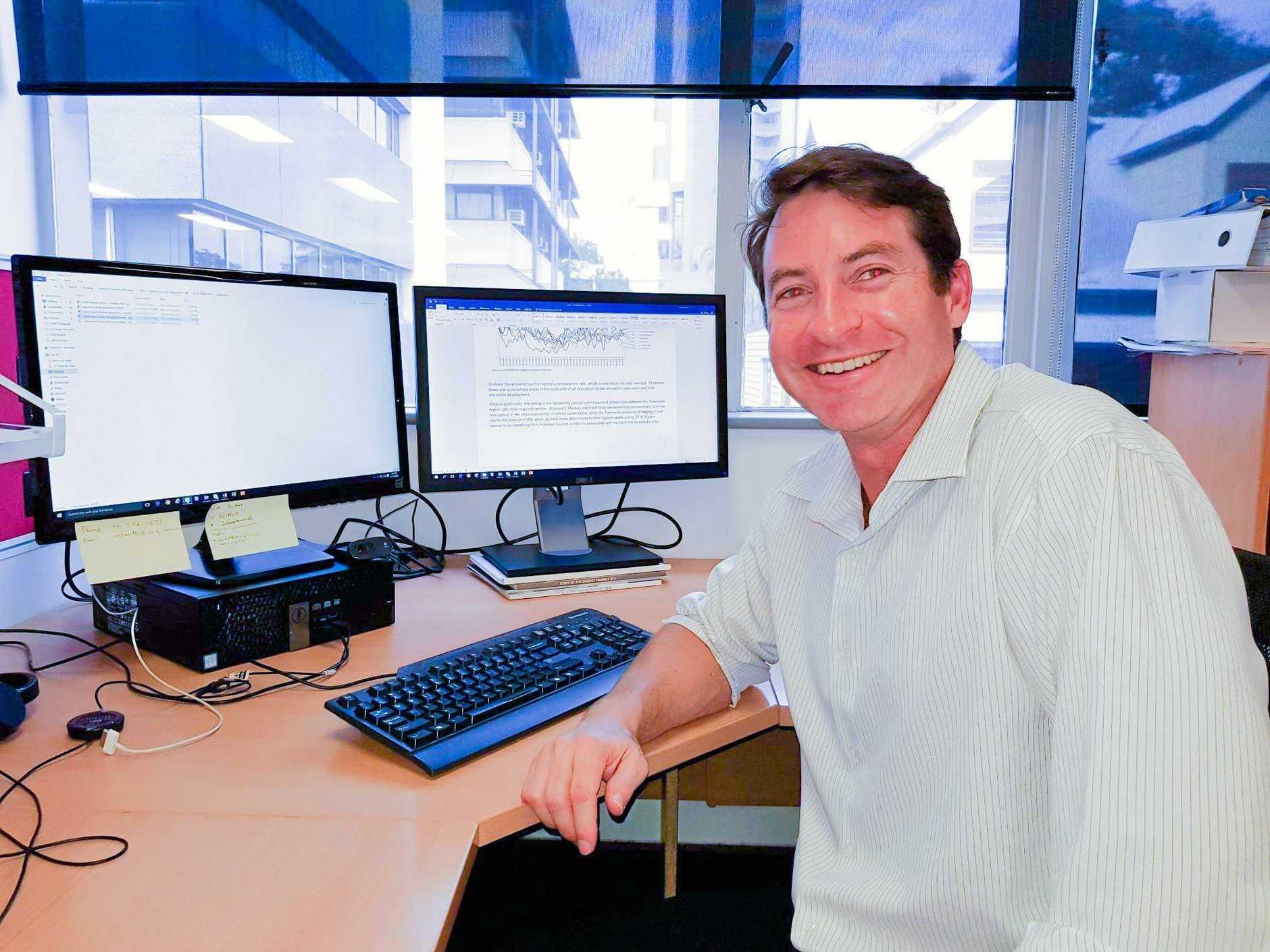 BUSINESS-MINDED: CCIQ chief economist Marcus Smith.