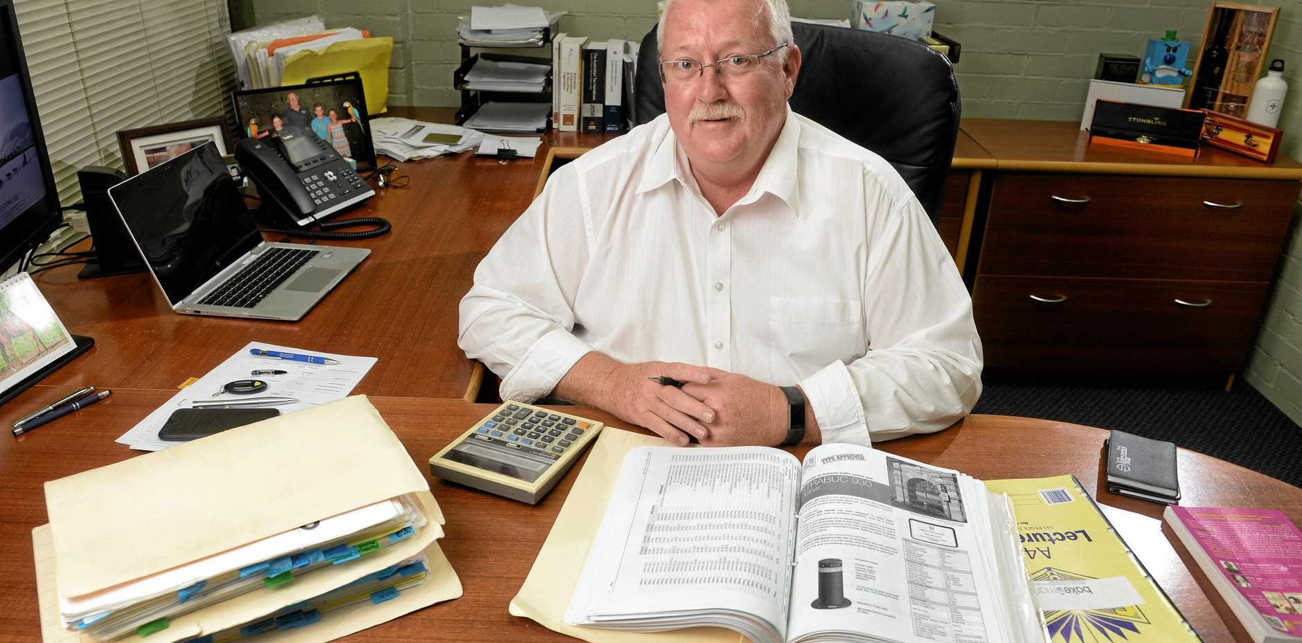 NUMBERS MAN: Harding Martin Chartered Accountants director Neil Harding.