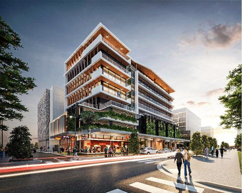 A development application has been lodged by Coast firm Evans Long to build Foundation Place in the Maroochydore city centre.