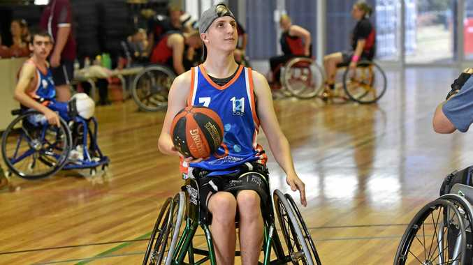 Suncoast Spinners annual wheelchair basketball tournament is on this weekend. Pictured is Michael Wardman