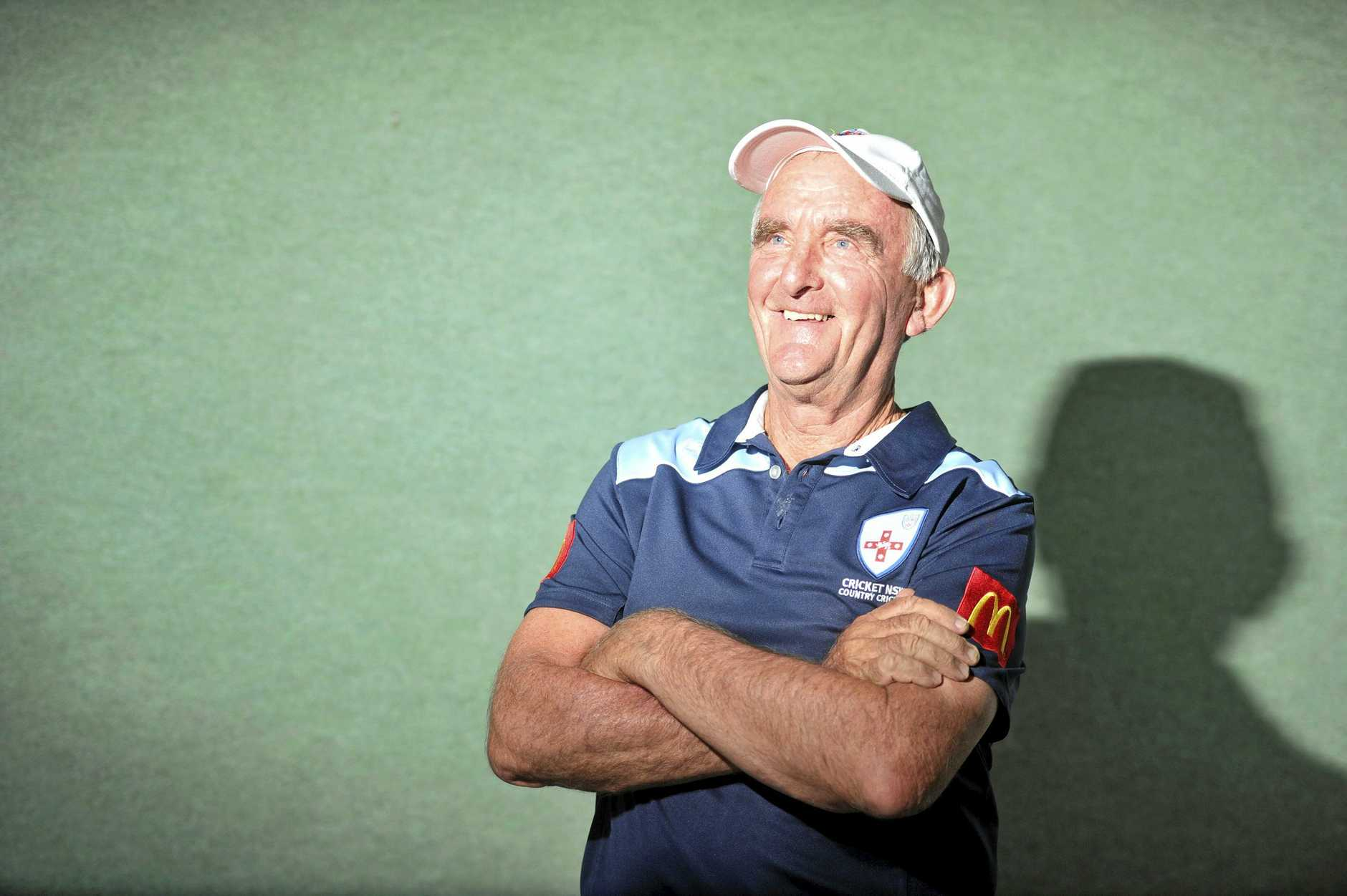 DECISION MAKER: Clarence River umpire Bruce Baxter has been selected to officiate in the the Plan B Regional Bash final at the Sydney Cricket Ground next month.