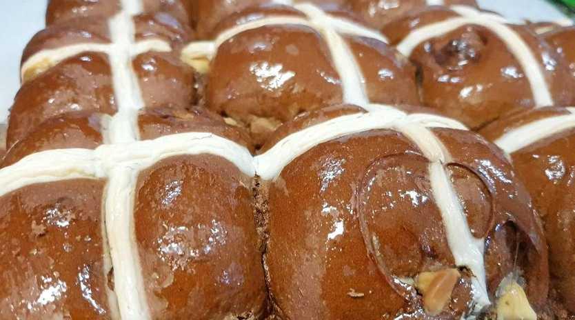 The popular Easter treat Hot Cross Buns are already on supermarket shelves.