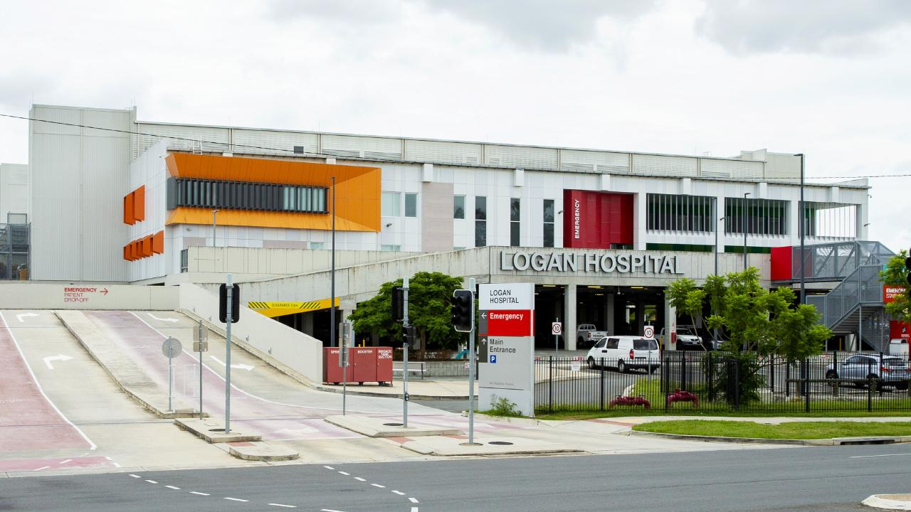 Logan Hospital south of Brisbane. Picture: AAP/Richard Walker