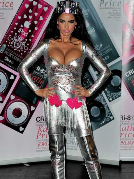 Katie Price in 2010.
