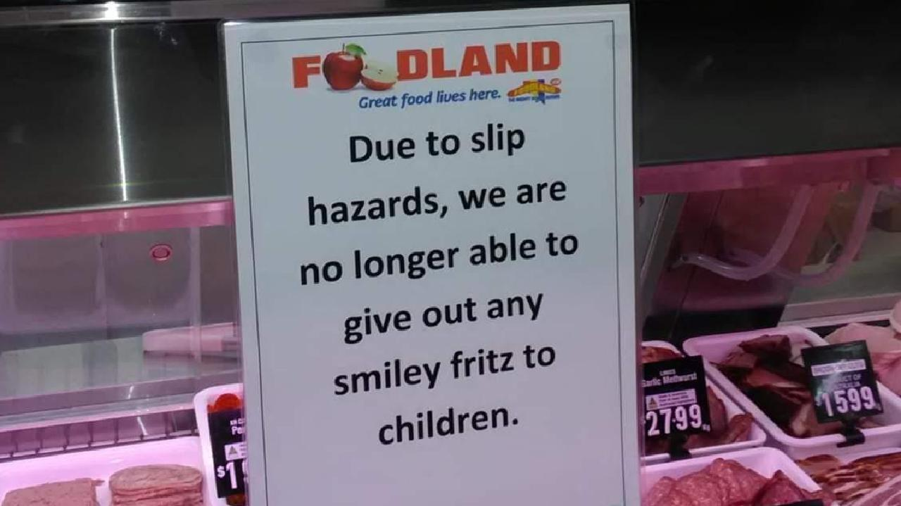Fury as store bans food item over slip fears.