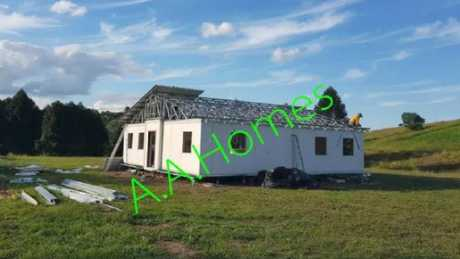 The two bedroom 60 sqm Relocatable Expandable Home retails for $58,200. Picture: Supplied