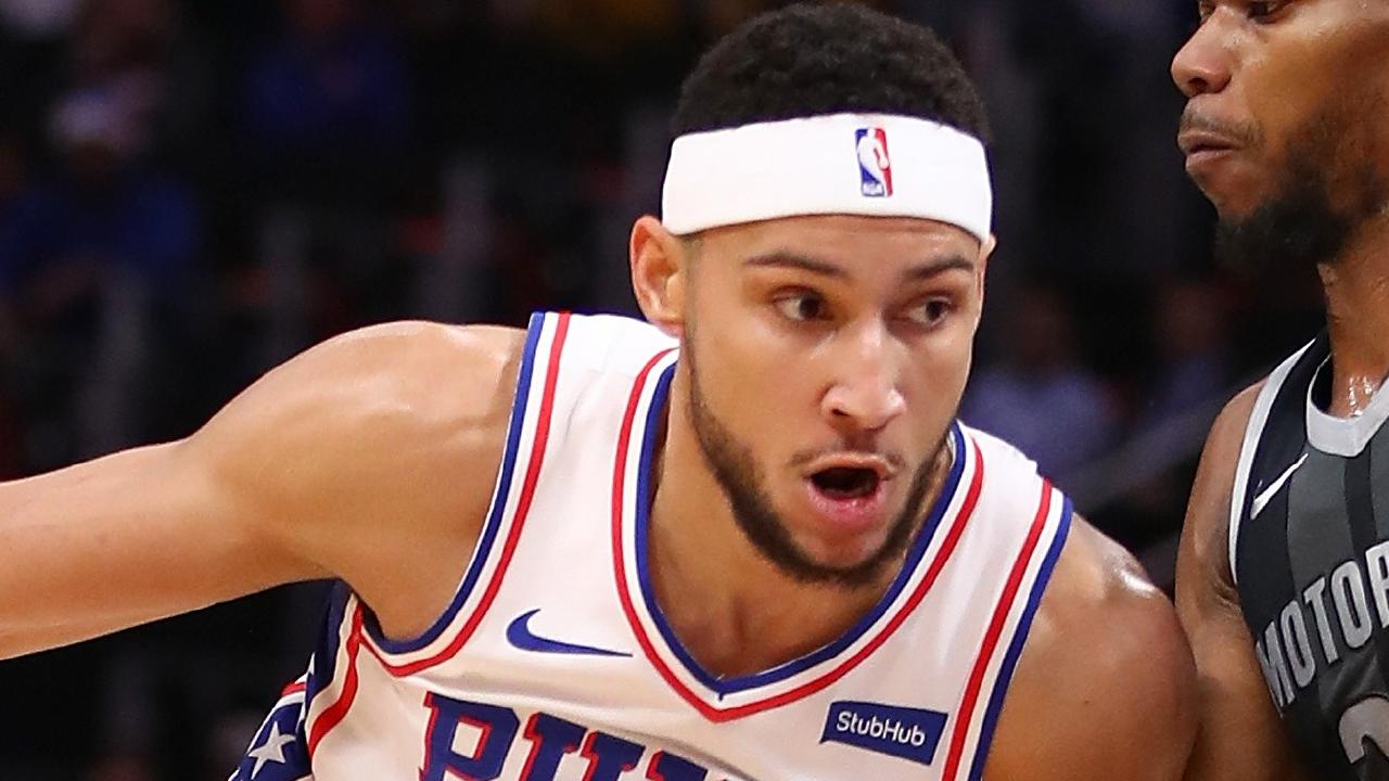 Ben Simmons is having a good season in Philly but could he be trade bait for Anthony Davis?