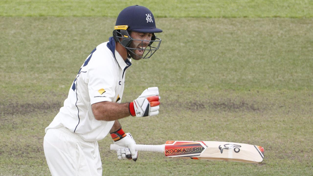 Glenn Maxwell can't find a way into the Test team, despite impressing at Shield level. Picture: AAP