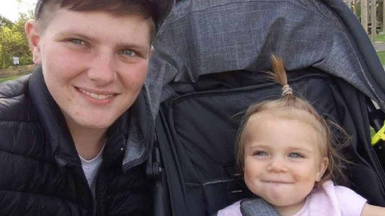 British dad Hayden Cross who gave birth to daughter Trinity in 2017 has said he wouldn't recommend it to other transgender parents.