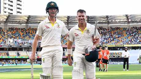 Bancroft and Warner are still friends. (AAP Image/Dave Hunt)