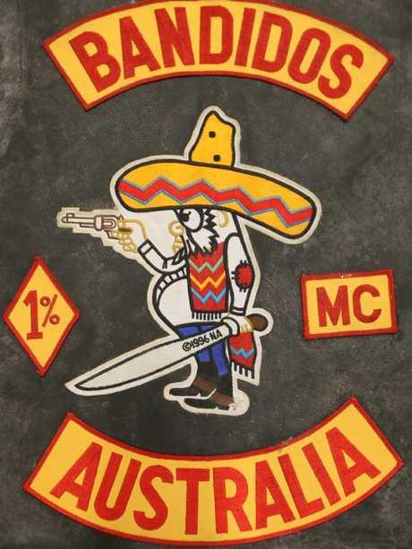 Bandidos patch.