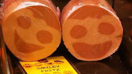 For non-South Australians this is what smiley fritz looks like.