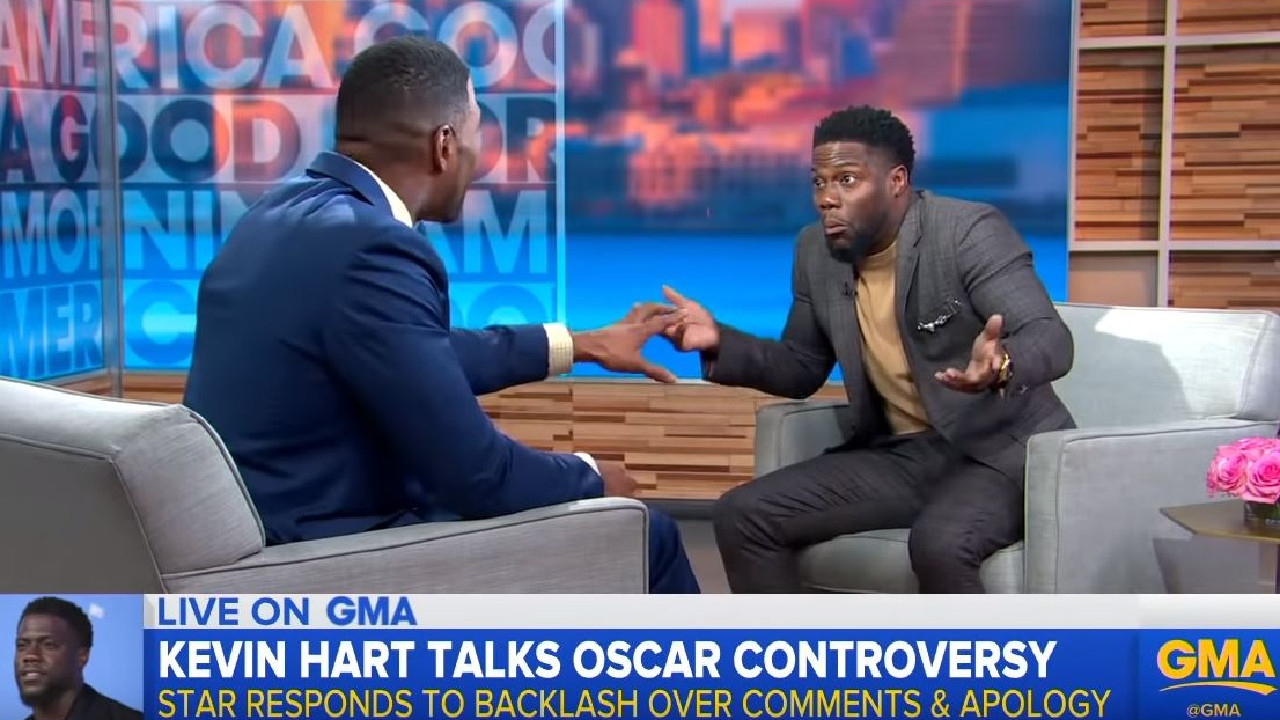 Kevin Hart is done talking about the controversy.