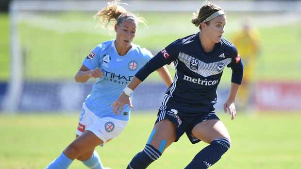 The ground conditions for the Melbourne derby were 'dangerous'.