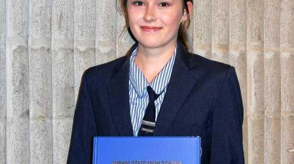 Mirani SHS Year 12 student Scarlett Penshorn is a recipient of CQUni Mackay's new Changemaker Award.