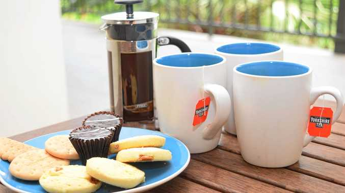 INDULGE: It's the simple things in life, like a yarn over a cuppa with friends.