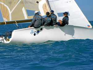 Sailors refreshed and back on clear waters