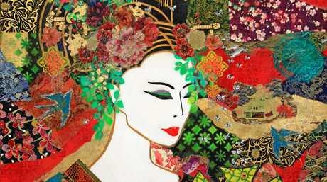 Montville Art Gallery has Kendall's  The Magic Kimono .