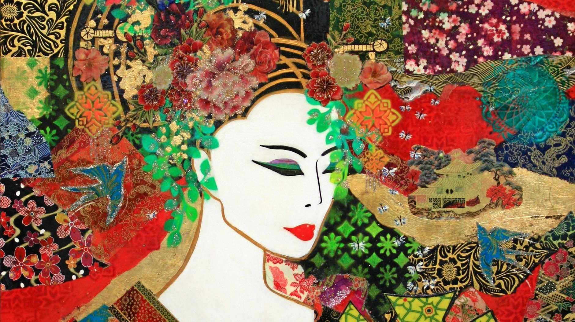 Montville Art Gallery has Kendall's The Magic Kimono.
