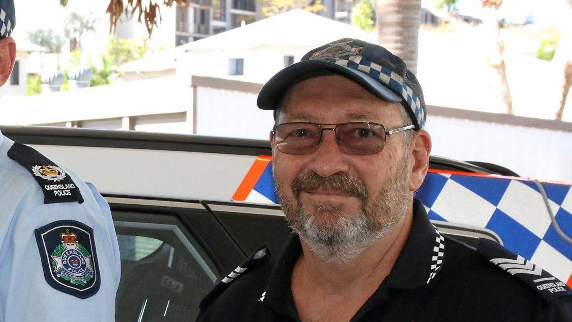 Whitsunday Police Acting Senior Sergeant Barry Haran.